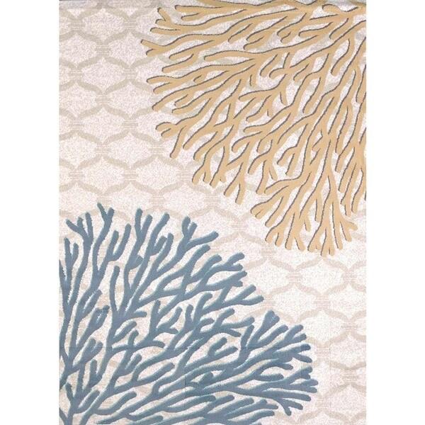 Structures Ocean Reef Area Rug (5'3 x 7'2)