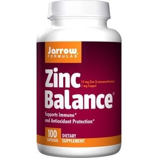 Jarrow Formulas Zinc Balance (100 Capsules)