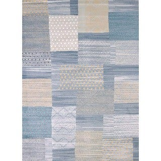 Structures Pattern Blocks Area Rug (7'10 x 10'6')