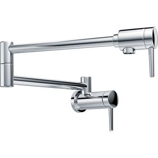 Delta Chrome Pot Filler Wall-mount Faucet