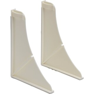 Delta White Peerless Universal Shower Splash Guards