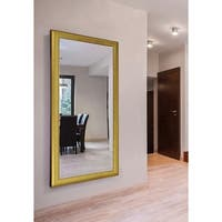 American Made Extra Large 37.5 x 72.5-inch Vintage Gold Vanity Wall Mirror