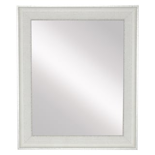 American Made Vintage White Wall/ Vanity Mirror