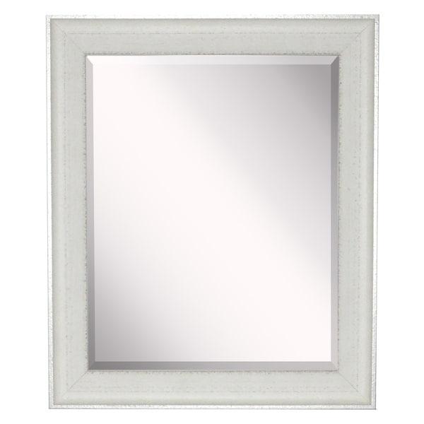 American Made Vintage White Wall/ Vanity Mirror