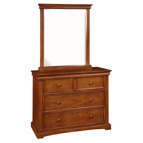Bolton Cambridge 4 Drawer Chest with Mirror Set