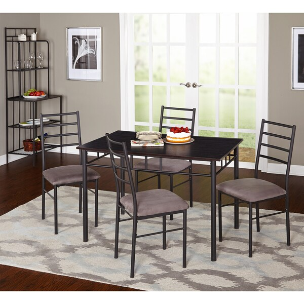 Shop Simple Living 6 Piece Liv Dining Set With Bakers Rack