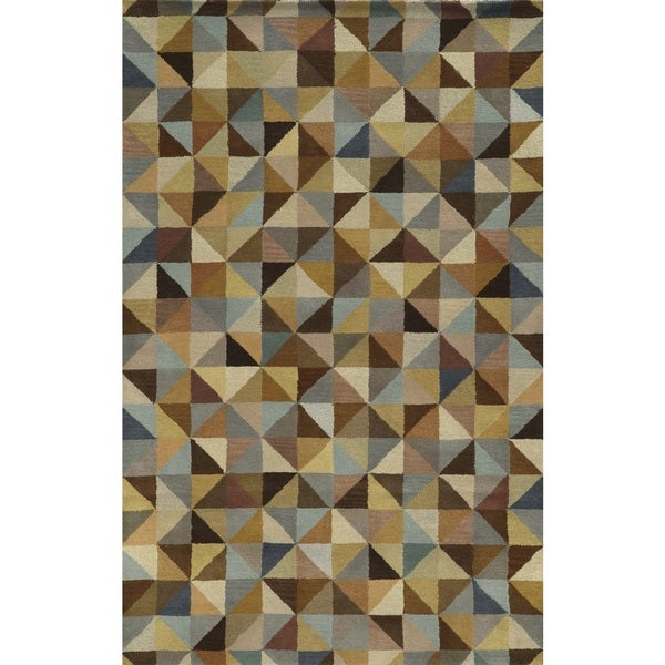 Shop Rizzy Home Pierre 100-percent Wool Hand-Tufted Accent