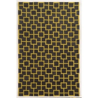 Rizzy Home 100-percent Wool Julian Pointe Hand-Tufted Accent Rug (3' x 5')