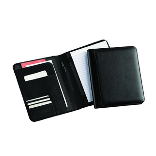 Bellino Business Junior Puebla Napa Leather Memo Padfolio (Option: Black)