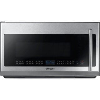 Samsung 2.1-cubic-foot Over-the-Range Microwave Oven Stainless Steel