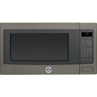 GE 2.2-cubic-foot Countertop Microwave Slate