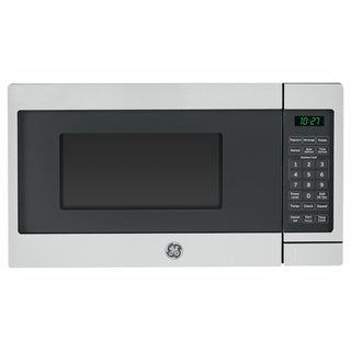 GE 0.7-cubic-foot Countertop Microwave Stainless Steel Finish