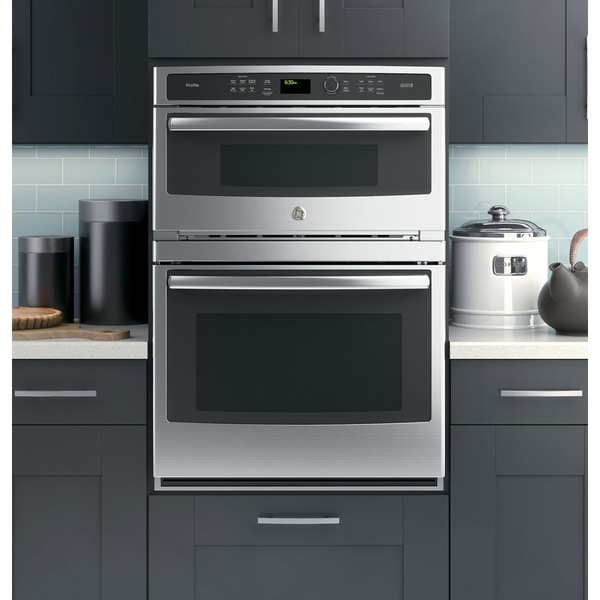 Shop Ge 30 Inch Built In Combination Wall Oven Free