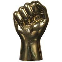 Brass 'The Solidarity Fist' Hand Decor