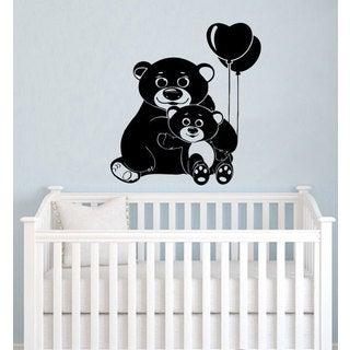 Bear Vinyl Sticker Wall Art