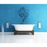 Octopus Tentacles Bathroom Vinyl Sticker Wall Art