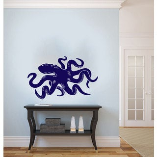 Octopus Sticker Wall Art