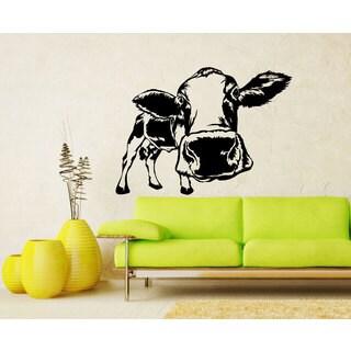 Cow Vinyl Wall Art