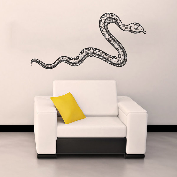 shop snake vinyl sticker wall art - free shipping on orders over $45