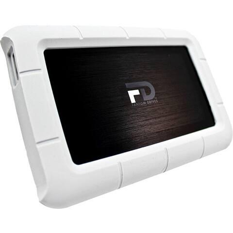 Fantom Drives G-Force3 Robusk Mini 500GB USB 3.0 Metal Portable Shock-Resistant Hard Drive