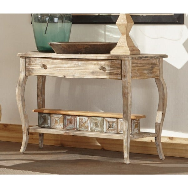 Ordinaire Alaterre Rustic Reclaimed Wood Sofa/ Console Table