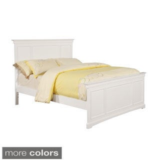 Bolton Cambridge Panel Full Bed with Headboard and Footboard