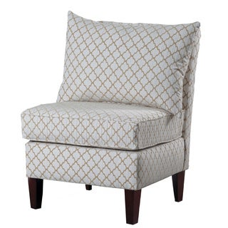 Whitby Casablanca Sand Straight Back Accent Chair