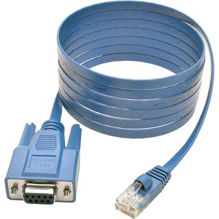 Tripp Lite 6ft Cisco Serial Console Port Rollover Cable RJ45 to DB9F