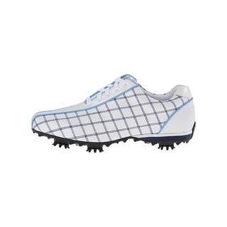 FootJoy Women's LoPro Collection Golf Shoes White/ Navy/ Light Blue|https://ak1.ostkcdn.com/images/products/10206692/P17329681.jpg?impolicy=medium