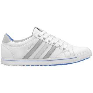 Adidas Women's Adicross IV Golf Shoe Spikeless White/ Blue