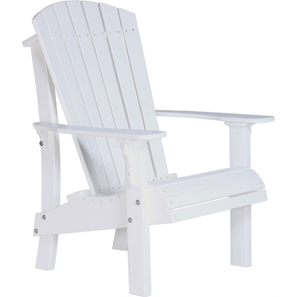 Deluxe Poly Comfort Height Adirondack Chair