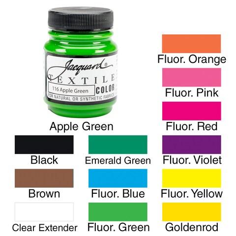 Jacquard Textile Color Fabric Paint 2.25oz