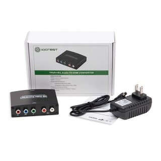 IOCrest Component YPbPr and RCA Audio to HDMI 1.3 Converter