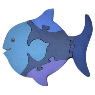 Wood Fish Puzzle