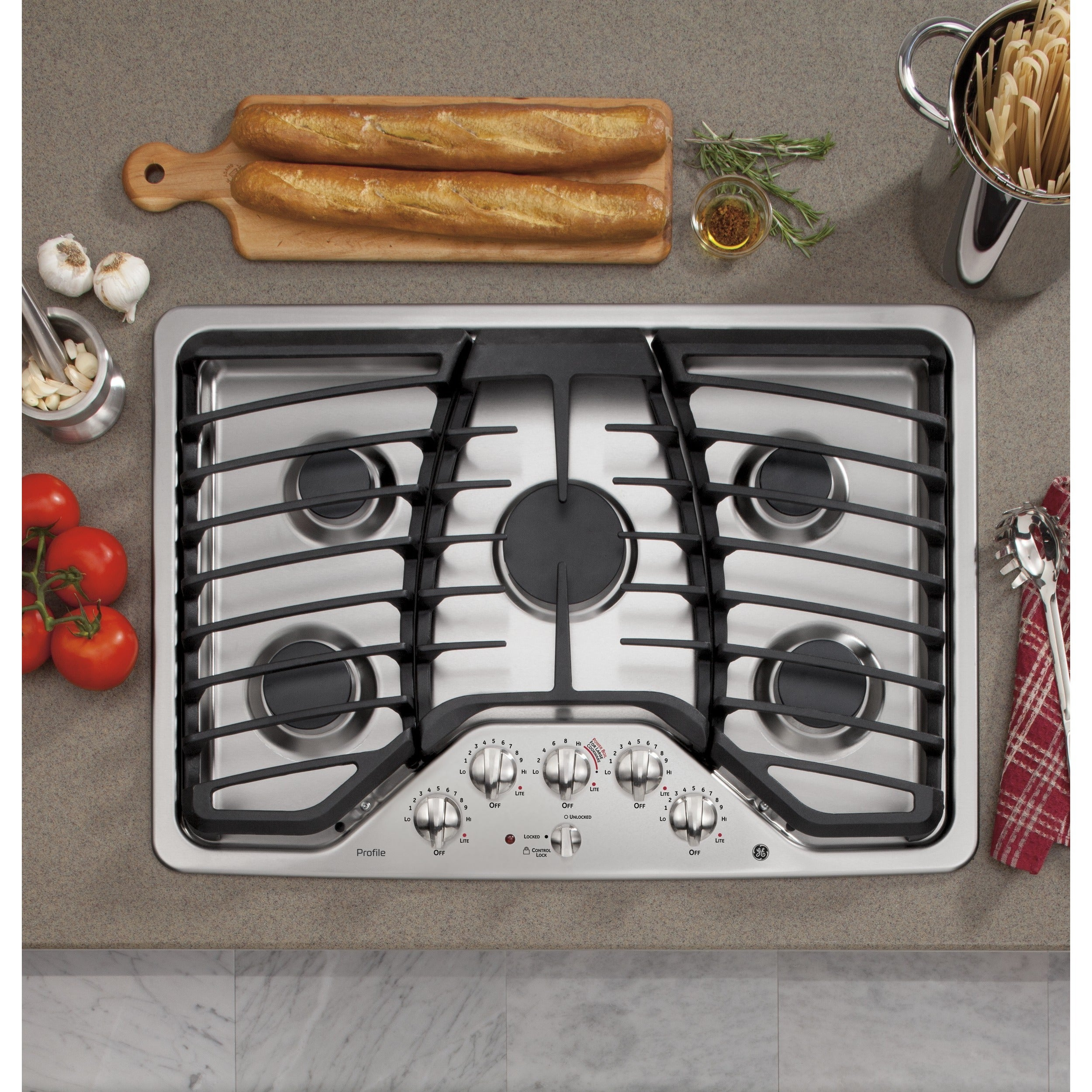 Ge Profile 30 Inch Built In Gas Cooktop 10206869
