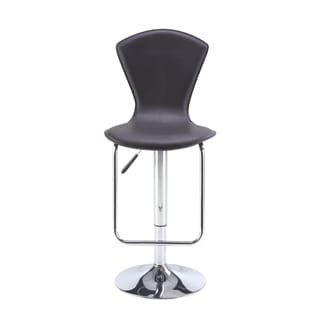 Adjustable Brown Bar Stool