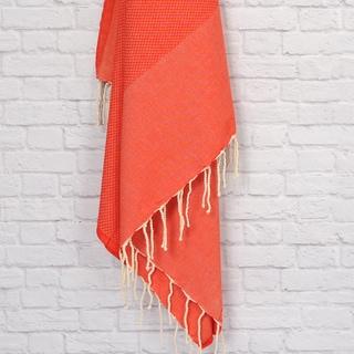 Authentic Pestemal Fouta Honeycomb Weave 100-percent Cotton Bath/ Beach Towel