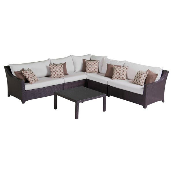 Pleasing Shop Deco 6 Piece Corner Sectional Set With Moroccan Cream Gmtry Best Dining Table And Chair Ideas Images Gmtryco