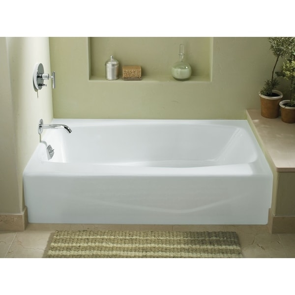 Kohler K 715 Villager 60 X 30 Alcove Bath With Integral A And