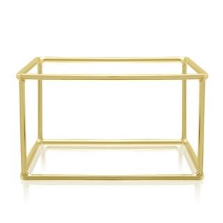 Adoriana Gold Square Bangle Bracelet