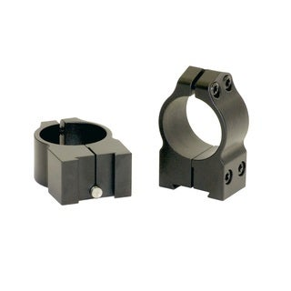 Warne 1-inch Tikka Permanently Attached Medium Matte Rings