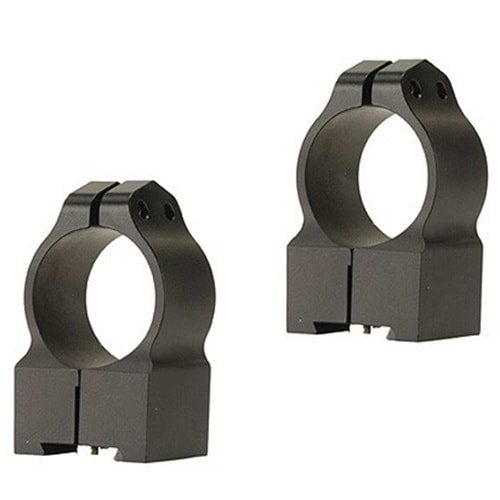 Warne 1-inch Tikka Permanently Attached High Matte Rings