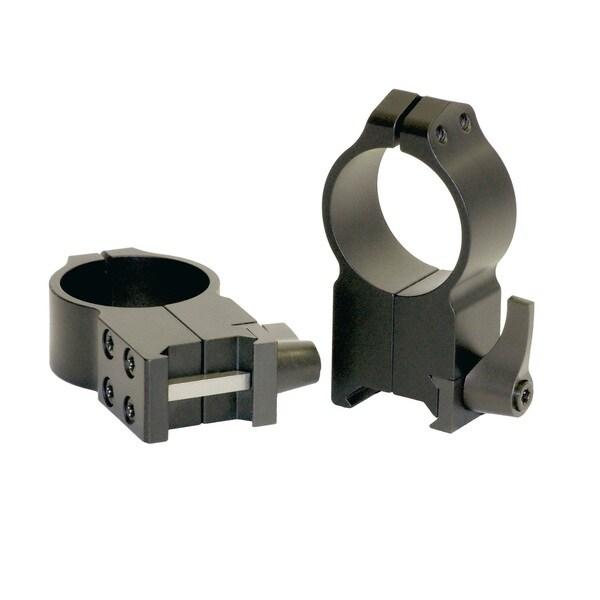 Warne 30mm Quick Detach Ultra High Matte Rings