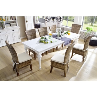 NovaSolo White Mahogany Dining Table