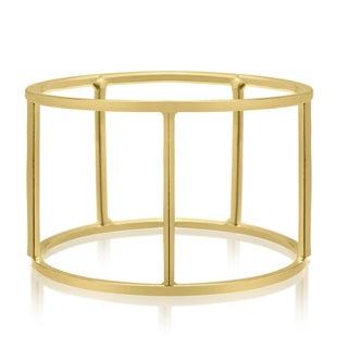 Adoriana Gold Cylinder Bangle Bracelet