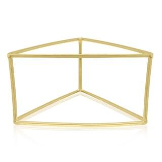 Adoriana Gold Triange Bangle Bracelet