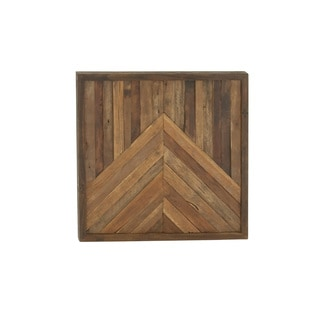 Contemporary Wooden Unframed Wall Decor