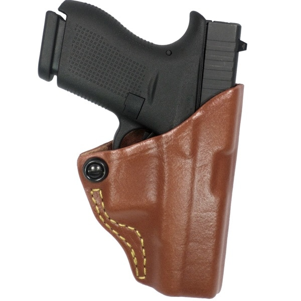 G&G Chestnut Brwn Tension Belt Slide Holster