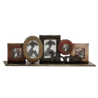Wood Tabletop Collage Photo Frame