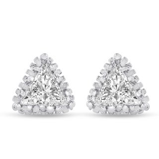 Adoriana Trillion Cut Earrings